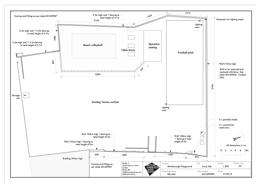 MH-MP002 - Site Plan